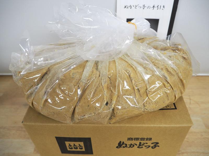 ぬか床のみ(3kgから)
